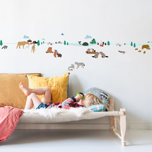 Northern Forest Wall Decal by MIMI'lou - minifili
