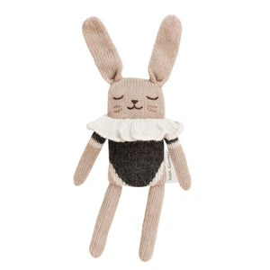 Bunny Black Bodysuit Soft Toy by Main Sauvage - minifili