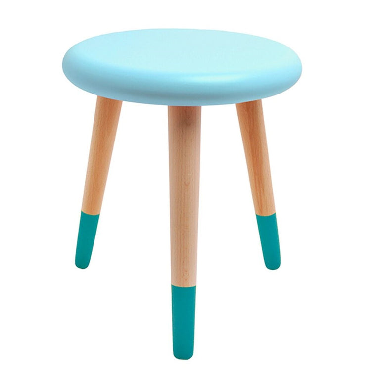 Alice Stool Aqua Blue Petrol Blue