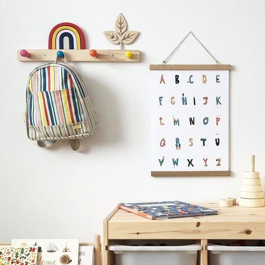 Playful Alphabet Print by Kid of the Village - minifili