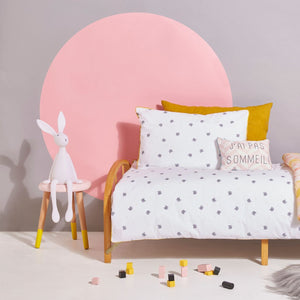 Cats Bedding Set Yellow Piping by Rose in April - minifili