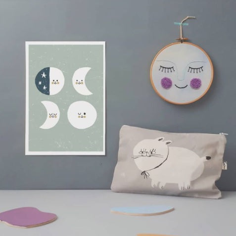 Luna Decorative Embroidery by Estudio Rio - minifili