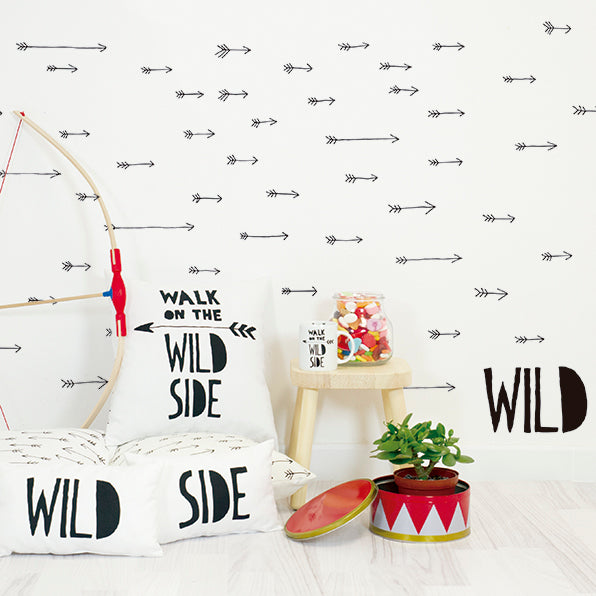 Wild Arrows Wall Decal by Chispum - minifili
