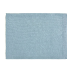 Bou Knitted Blanket Winter Blue