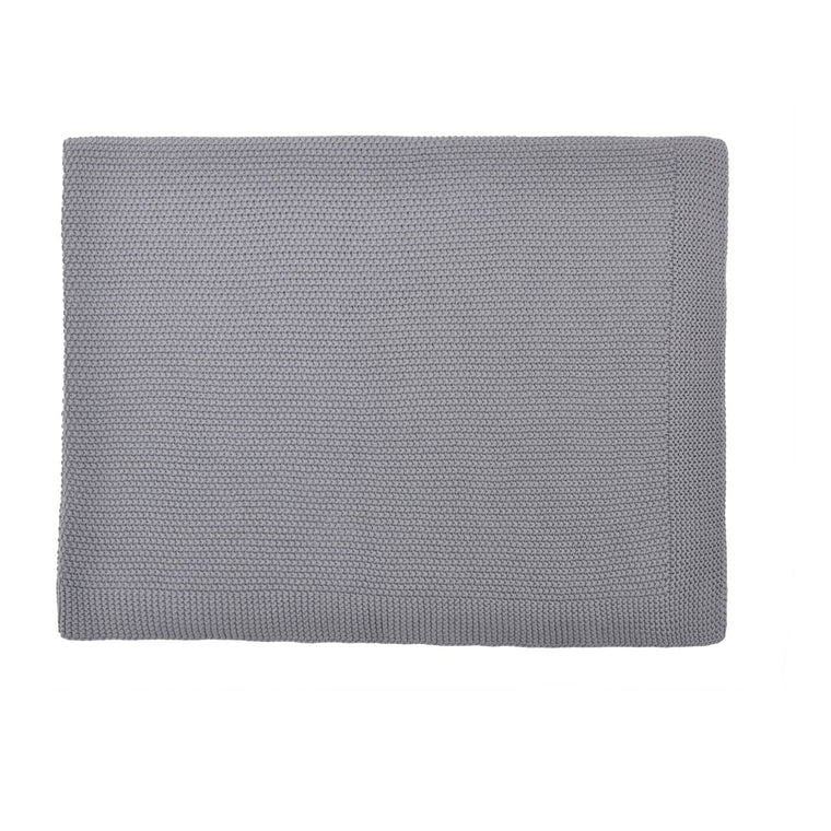 Bou Knitted Blanket Grey