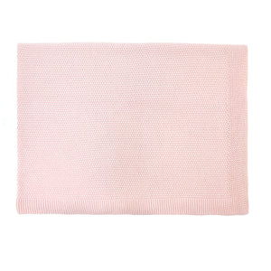 Bou Knitted Blanket Light Pink