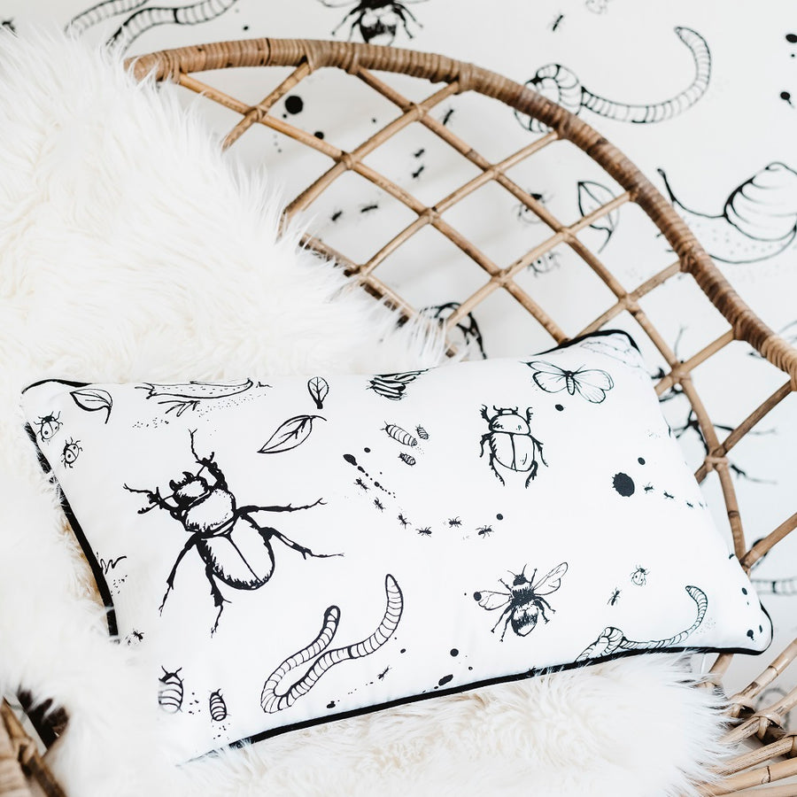 Mini Beasts Cushion by Bear & Beau - minifili