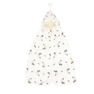 Fawn Bath Cape White by Rose in April - minifili