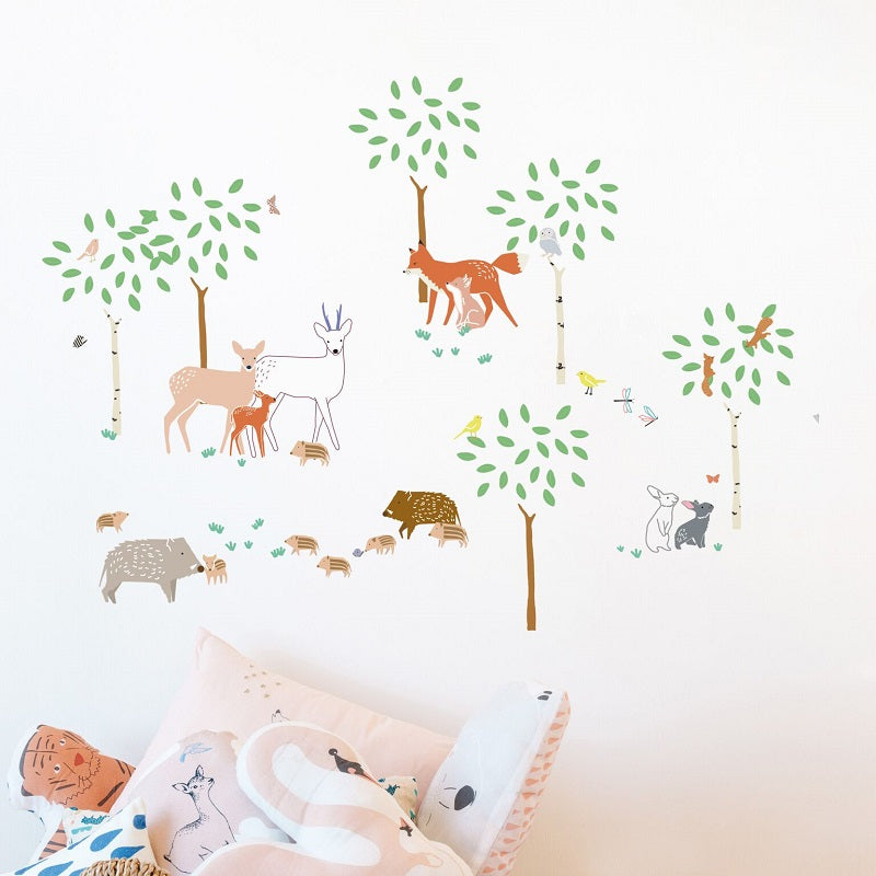 MIMI'lou - A Walk in the Woods Wall Sticker