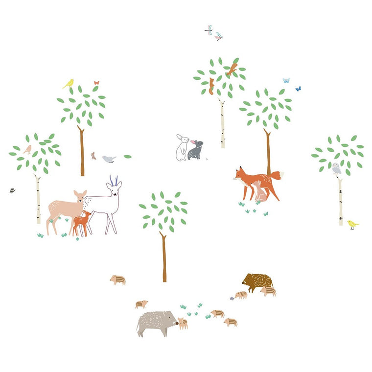 A Walk in the Woods Wall Sticker