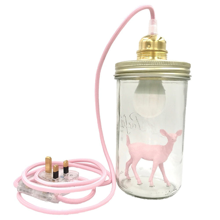 Bambi Table Lamp Light Pink