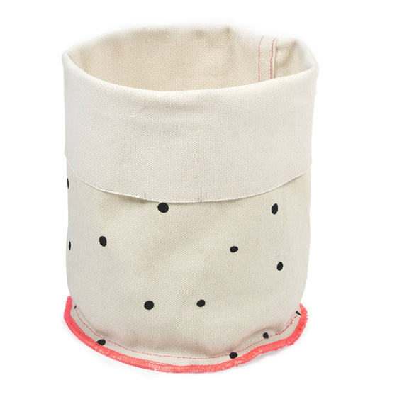 Black Dots Basket
