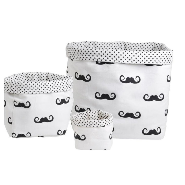 Moustache Baskets
