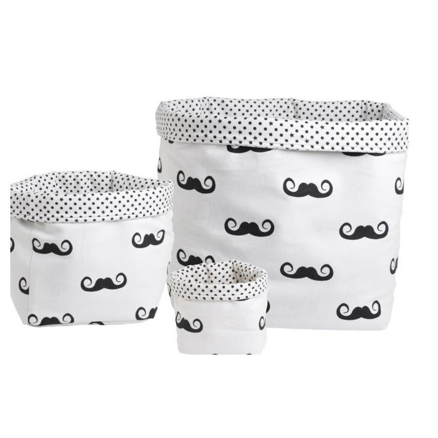 Moustache Baskets by Rose in April - minifili