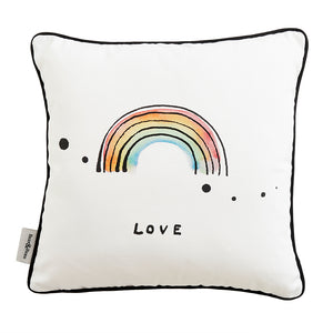 Rainbow Love Cushion by Bear & Beau - minifili
