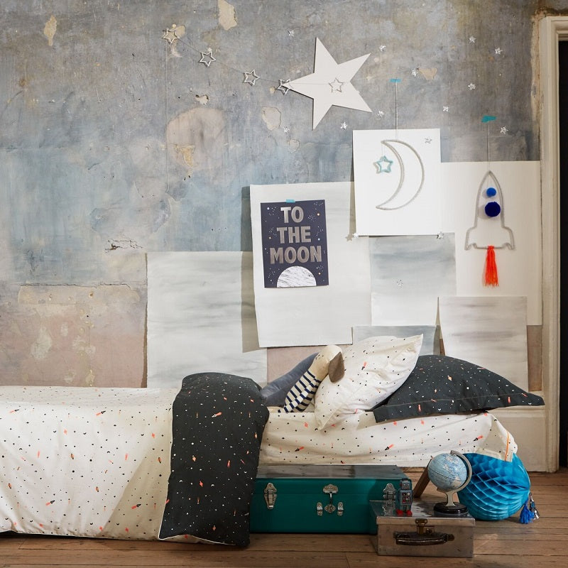 Moon and Star Wall Decoration by Meri Meri - minifili