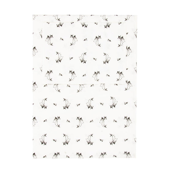 Fawn Bedding Set White