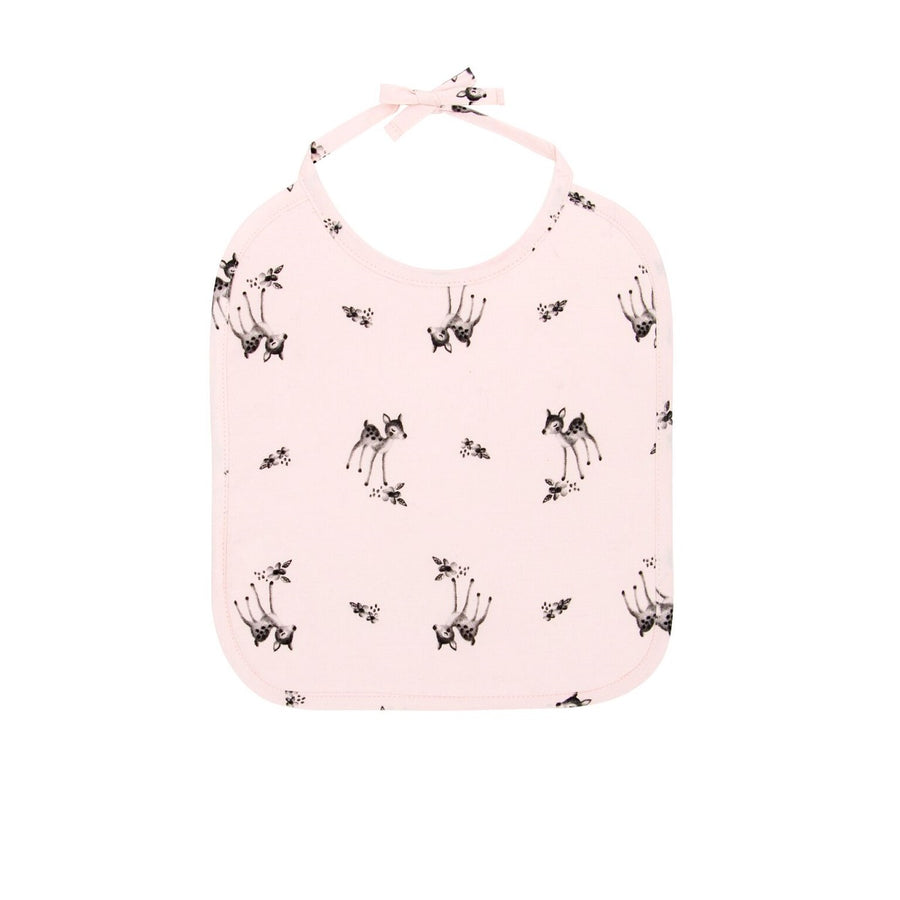Fawn Bib Light Pink by Rose in April - minifili