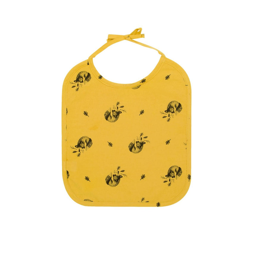 Fox Bib Ceylon Yellow by Rose in April - minifili