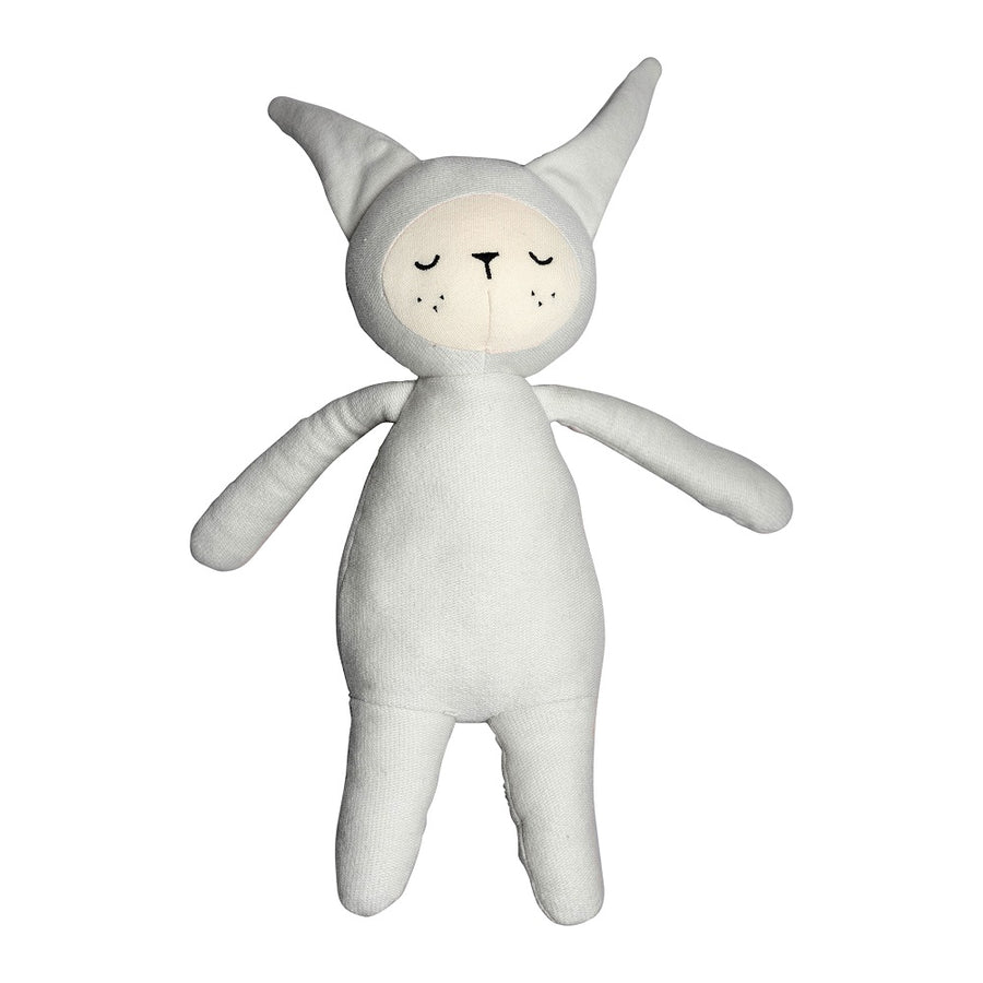 Buddy Bunny Light Grey by Fabelab - minifili