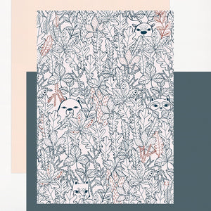 Cache Cache Forest Print by Charlotte Janvier - minifili