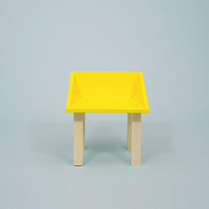 Trailer / Side Table Yellow by Studio delle Alpi - minifili