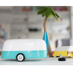 Camper Trailer Blue by Candylab - minifili