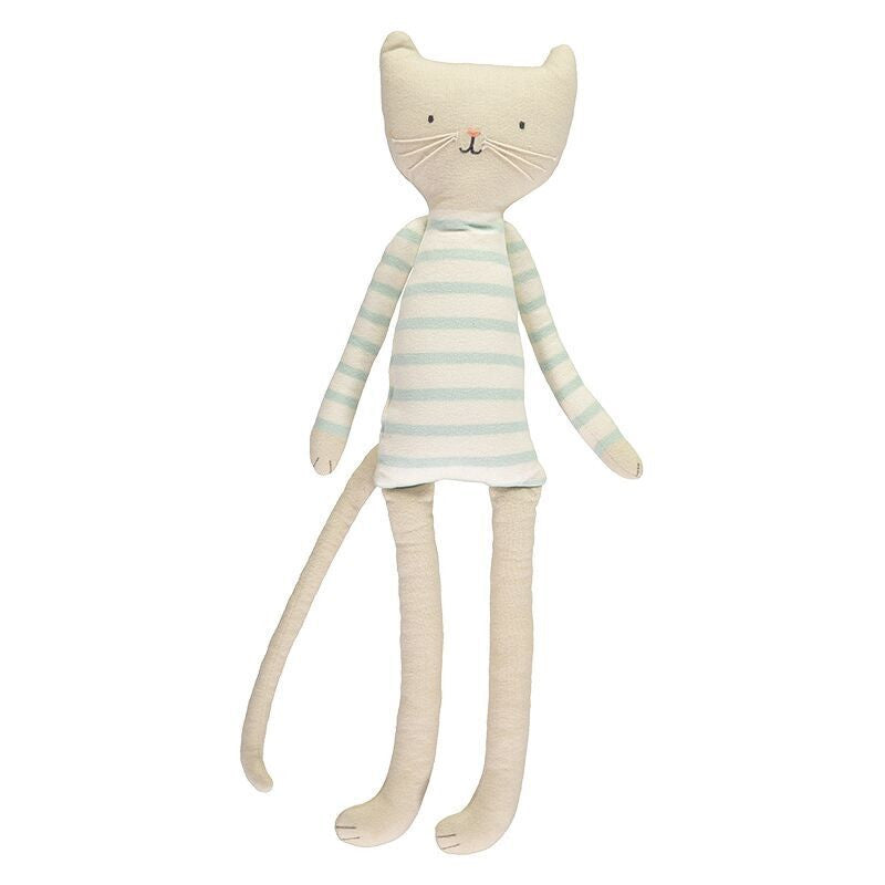 Meri Meri - Knitted Cat Soft Toy Cushion