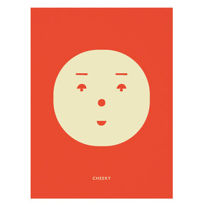 Cheeky Feeling Print by MADO - minifili