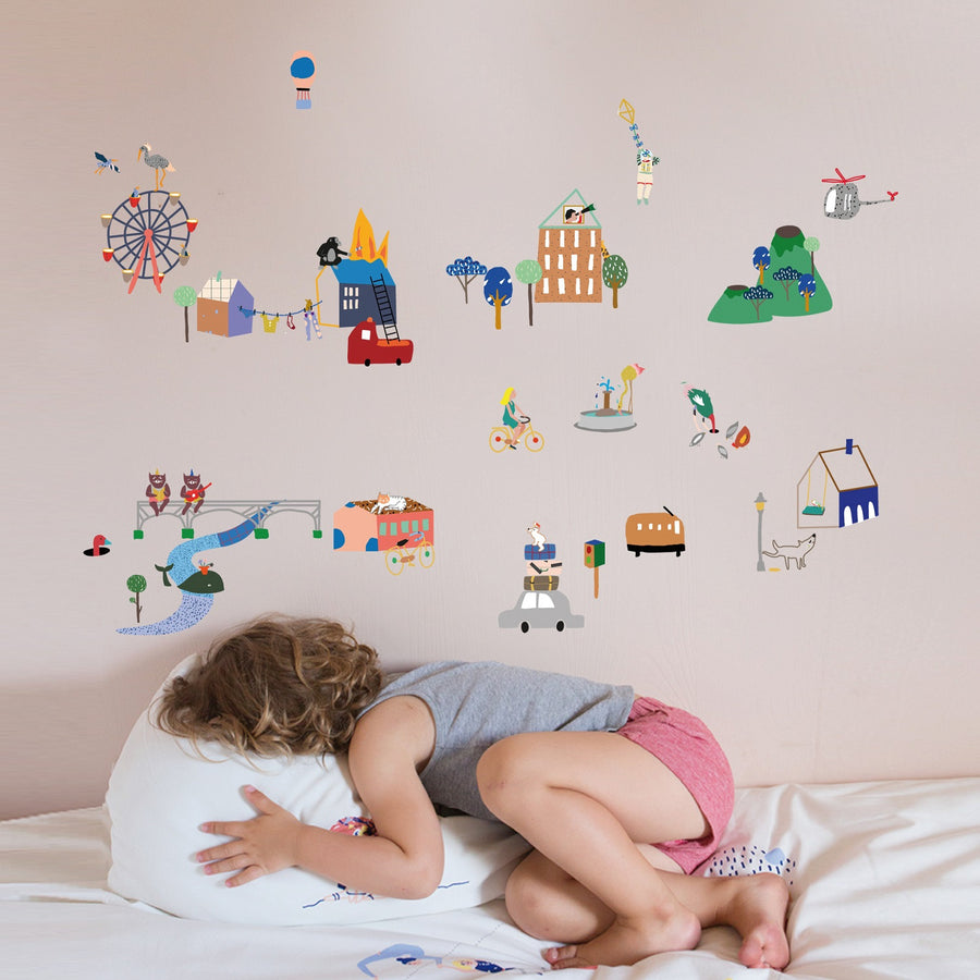 City Wall Decal by MIMI'lou - minifili