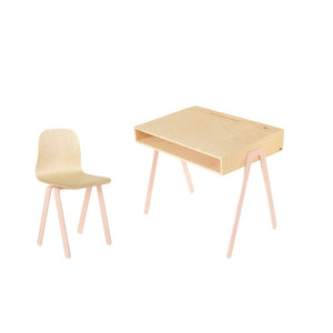 Kids Desk & Chair Large Pink