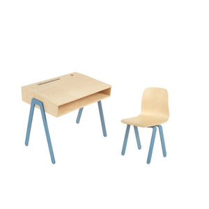 Kids Desk & Chair Small Blue by In2Wood - minifili