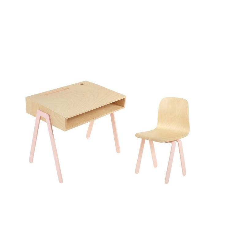 Kids Desk & Chair Small Pink