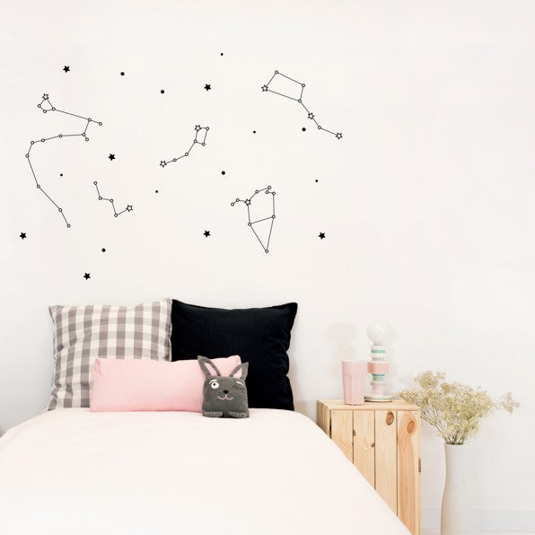 Chispum - Constellation Glow in the Dark Wall Decal