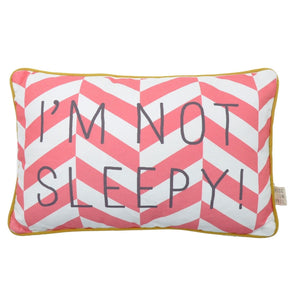 I'm Not Sleepy Cushion by Rose in April - minifili