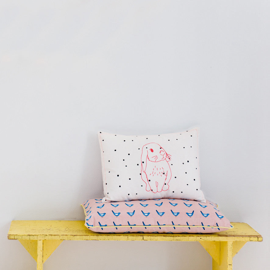 MIMI'lou - Pink Rabbit Cushion