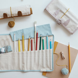 Roll Up Pencil Case Bunny by Fabelab - minifili