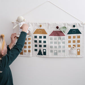 Townhouses Wall Decoration by Fabelab - minifili