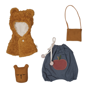 Bear Cape Dolly Dress-Up Kit by Fabelab - minifili