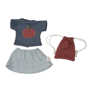 T-Shirt and Skirt Dolly Dress-Up Kit by Fabelab - minifili