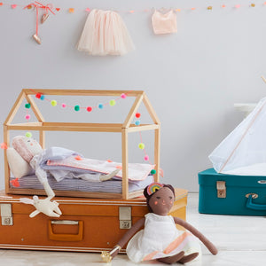 Wooden Doll Bed by Meri Meri - minifili
