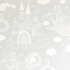 Dragon Sky Wallpaper Grey by Majvillan - minifili
