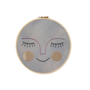 Full Moon Decorative Embroidery by Estudio Rio - minifili