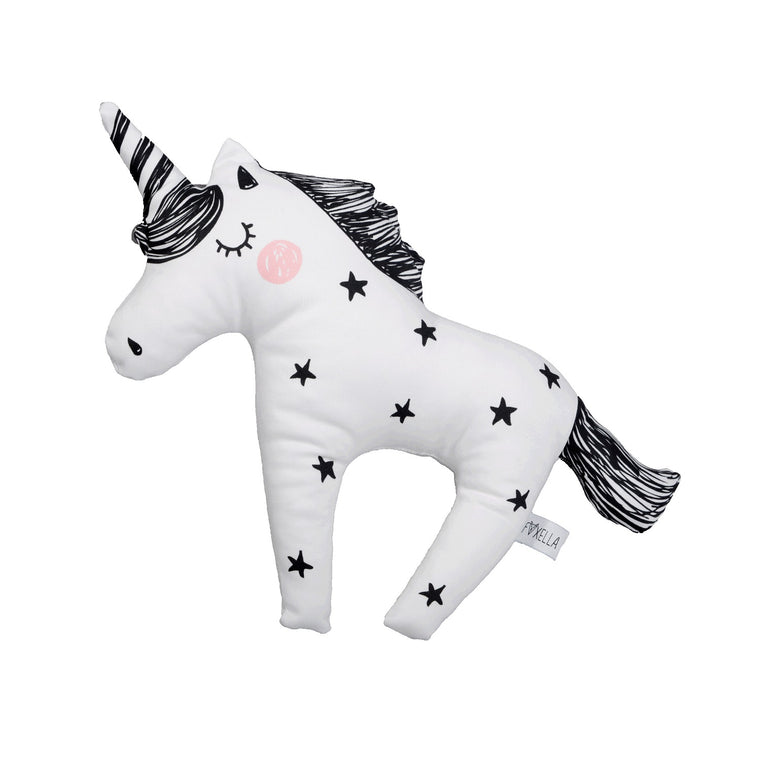 Twinkle Star Unicorn Soft Toy Cushion