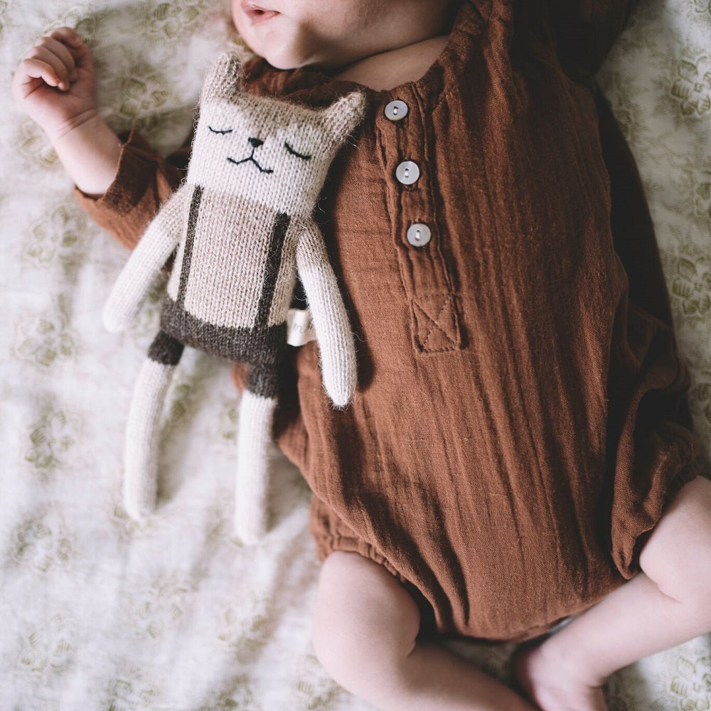 Main Sauvage - Fawn Overall Soft Toy