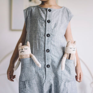Fawn Overall Soft Toy by Main Sauvage - minifili