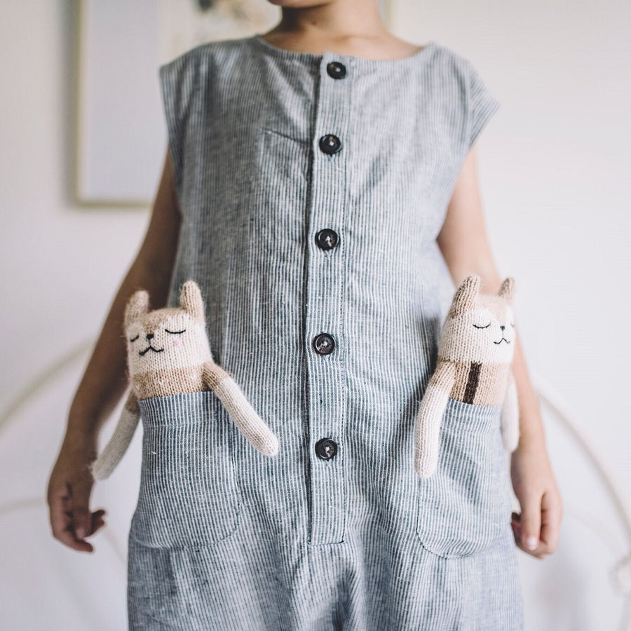 Fawn Overall Soft Toy