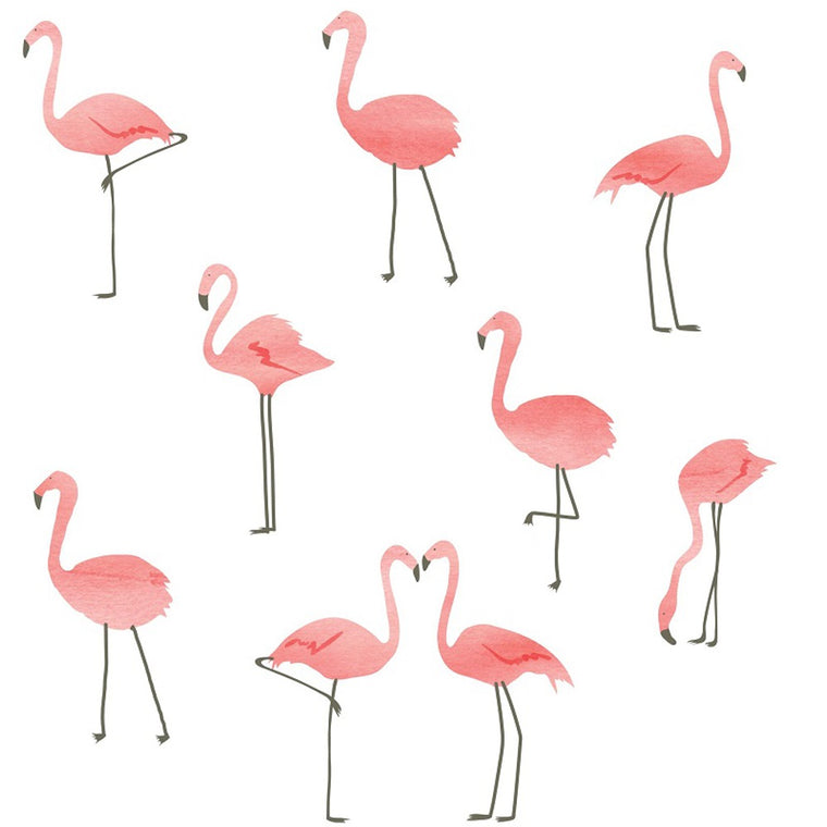 Just a Touch - Flamingos Wall Sticker