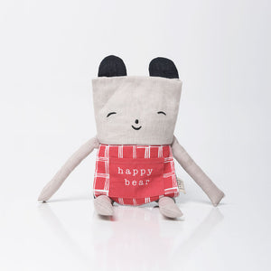 Flippy Friend Bear by Wee Gallery - minifili