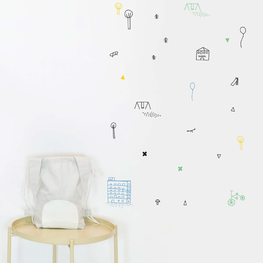 Funny Day Wall Decal